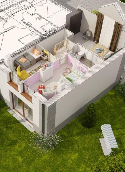 Domy szeregowe w Komornikach